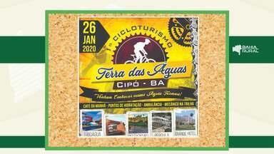 Agenda Rural: Confira os eventos que acontecem em toda a Bahia - Entre os destaques está o 1º Cicloturismo de Cipó.