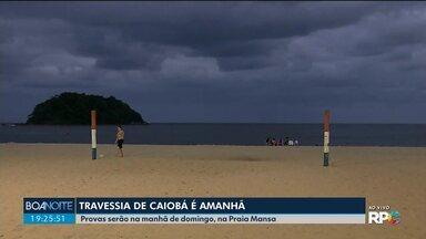 Travessia de Caiobá é neste domingo (19) - Provas serão na manhã de domingo (19), na Praia Mansa.