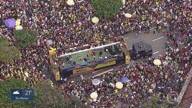 Carnaval de BH se transforma em um dos maiores do Brasil - Crescimento foi notável depois das ocupações em espaços públicos, como o movimento da Praia da Estação.