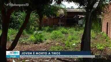 Jovem é morto a tiros em matagal na região sul de Palmas - Jovem é morto a tiros em matagal na região sul de Palmas
