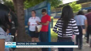 Aluno de escola pública de RO conseguiu superar notas da média nacional do Enem - Inep divulgou resultado das provas nesta semana.
