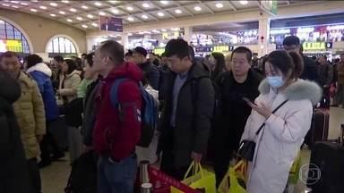 China relata mais casos de pneumonia causada por novo tipo de vírus - Quase 50 pessoas foram infectadas até agora.