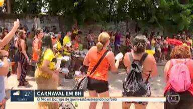 Blocos de carnaval já agitam Belo Horizonte - Foliões que vão tocar pela primeira vez neste ano relatam frio na barriga.