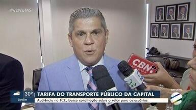 TCE suspende liminar e tarifa de ônibus volta a subir para R$ 4,10 em Campo Grande - Decisão saiu em audiência de conciliação nesta segunda-feira.
