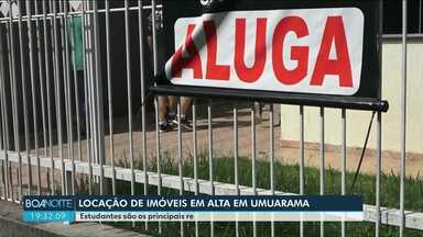 Mercado de locação de imóveis está aquecido em Umuarama - Estudantes são os principais responsáveis pelo movimento.