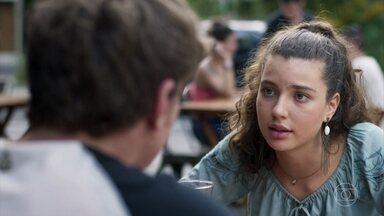 Rita conta a Filipe que Rui a impediu de ver Nina - Filipe diz que a associação de Rita com Rui é um erro