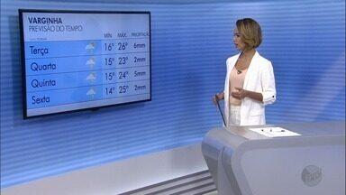 Confira a previsão do tempo nas cidades do Sul de MG - Chuva continua na região