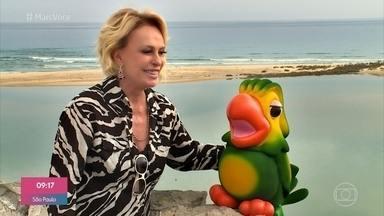 Programa de 21/01/2020 - Ana Maria Braga e Louro José mostram passeio pelo Algarve e as delícias do restaurante de Noélia em Portugal