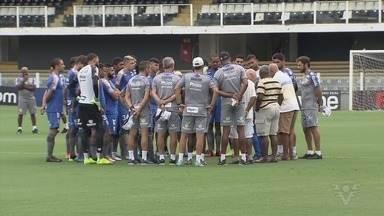 Santos faz treino aberto na Vila Belmiro antes de estreia no Paulistão - Último treinamento antes de encarar o Bragantino, em casa, contou com festa da torcida e a presença de ídolos do Peixe.