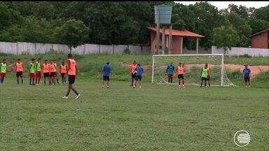 Piauí se prepara para enfrentar o River-PI no domingo (26) - Piauí se prepara para enfrentar o River-PI no domingo (26)