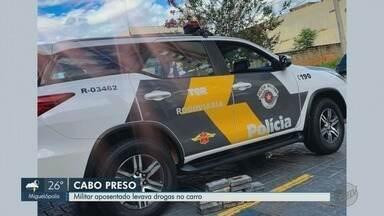 Cabo aposentado do Exército é preso com 13,6kg de crack em Ribeirão Preto - Homem foi pego na Avenida Bandeirantes na tarde de sexta-feira (24).