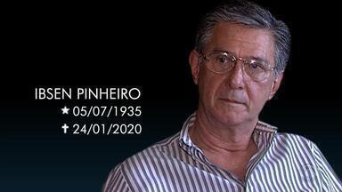 Ex-presidente da Câmara dos Deputados Ibsen Pinheiro é velado em Porto Alegre - Ex-deputado presidiu a Câmara durante o processo de impeachment de Fernando Collor. Ele morreu aos 84 anos após ter paradas cardiorrespiratórias.