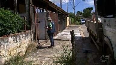 Trabalho de combate à dengue é intensificado em Sorocaba - As equipes de Zoonoses intensificam o trabalho de combate aos focos do mosquito transmissor da dengue em Sorocaba (SP).