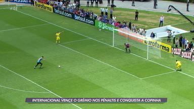 Internacional vence o Grêmio nos pênaltis e conquista a Copinha 2020 - Internacional vence o Grêmio nos pênaltis e conquista a Copinha 2020