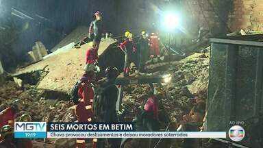 Bombeiros procuram homem desaparecido no bairro Jardim Teresópolis, em Betim