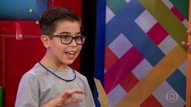 Conheça Lucas Mohallem - Ele é de Belo Horizonte (MG) e tem 10 anos
