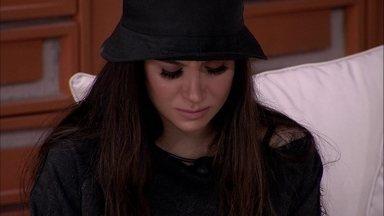 Bianca chora após ser indicada ao primeiro Paredão do BBB20 - Bianca chora após ser indicada ao primeiro Paredão do BBB20