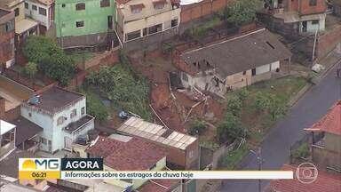 G1 no BDMG: Nesta segunda-feira ainda há risco de deslizamentos em BH - De acordo com a Defesa Civil estadual, 13 pessoas morreram na cidade.