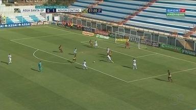 Novorizontino derrota Água Santa em Diadema - Em uma vitória por 2 x 0 Novorizontino segue na liderança do Grupo B