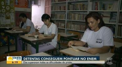 Detentas superam dificuldades do presídio e pontuam no Enem - Confira os detalhes na reportagem de Felícia Arbex.