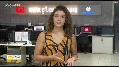 Veja os destaques do G1 Pará com a repórter Gabriela Azevedo - Veja os destaques do G1 Pará com a repórter Gabriela Azevedo