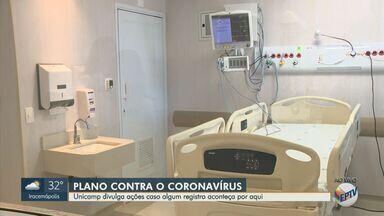 Hospital de Clínicas da Unicamp divulga plano de ação sobre o coronavírus - Unidade utiliza roupas específicas e 18 leitos de internação isolados para atuar no combate a doenças infeccionas. Ao menos 12 países têm casos confirmados de infecção por coronavírus.