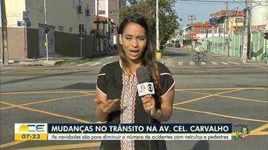 Veja o que muda no trânsito da avenida Coronel Carvalho - Saiba mais em g1.com.br/ce