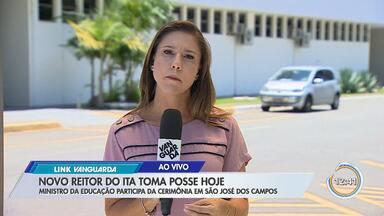 Novo reitor do ITA toma posse nesta segunda-feira - Ministro da educação participou da cerimônia em São José.