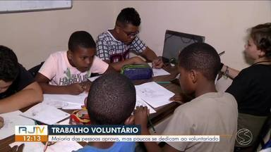 Moradores do Sul do Rio fazem a diferença com trabalho voluntário - Especialista fala como este tipo de atividade pode agregar no currículo.