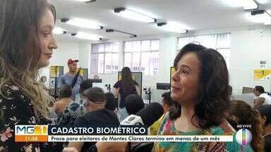 Prazo para cadastramento biométrico em Montes Claros segue até 21 de fevereiro - Cerca de 193.500 pessoas de várias cidades do Norte de Minas já realizaram o cadastramento.