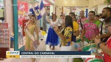 Liga das Escolas de Samba do AP inaugura Central do Carnaval em Macapá - Local vai concentrar vendas de ingressos para eventos, como os desfiles e o Festival de Samba-Enredo.