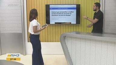 Portal G1 Amapá destaca programação do Festival de Samba-Enredo 2020 - Programação acontece na Concha Acústica do Araxá em 9 de novembro.