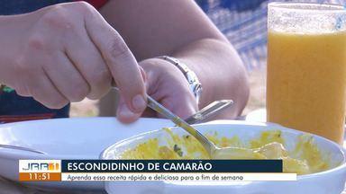 Escondidinho de camarão:Aprenda uma receita rápida e deliciosa para o fim de semana - Confira mais do quadro Na cozinha.