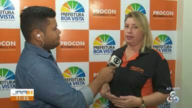 Procon municipal suspende serviços em Boa Vista - Técnicos passarão por capacitação para melhoria do atendimento. Os serviços voltam a normalidade a partir do dia 31 de janeiro.