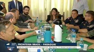 Ministra da Justiça do Paraguai visita presídio de Pedro Juan Caballero - Ministra da Justiça do Paraguai visita presídio de Pedro Juan Caballero