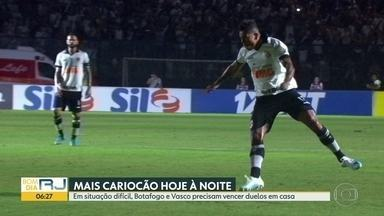 Mesmo com vitória, Vasco tem missão difícil para se classificar no Carioca - Botafogo está perto de anunciar novos reforços e grupo principal do Flamengo se reapresenta sob comando de Jorge Jesus.
