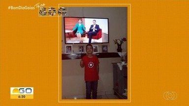 Telespectadores enviam foto para o quadro 'Tô no BDG' - Imagens podem ser enviadas por QVT, Whatsapp e redes sociais.