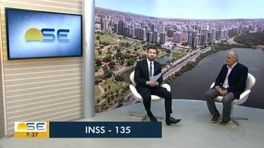 Gerente-executivo do INSS em Sergipe fala sobre filas de espera para receber benefícios - Gerente-executivo do INSS em Sergipe fala sobre filas de espera para receber benefícios.