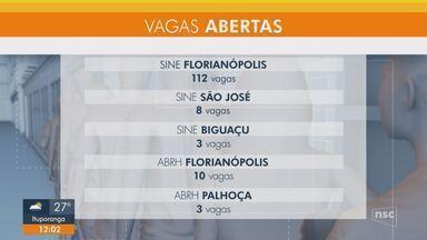 Confira as vagas de emprego abertas para a Grande Florianópolis - Confira as vagas de emprego abertas para a Grande Florianópolis