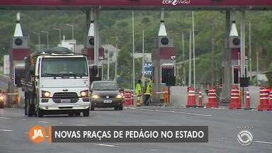 Novas praças de pedágio estão prontas para operar no RS - Praças começam a operar em fevereiro.