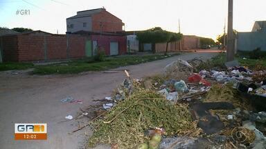 Problemas em rua do Bairro João de Deus incomoda moradores - Entenda na reportagem de Kris de lima e Ricardo Mattos.