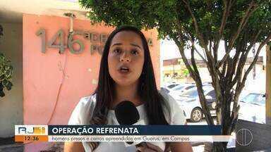 Polícia prende acusados de homicídios em operação em Campos, no RJ - Equipes ainda estão nas ruas em buscas de outros acusados.