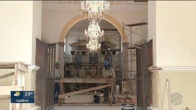 Obras da catedral de Corumbá estão atrasadas - Celebrações a padroeira serão na igreja de N. Sª. de Caacupé
