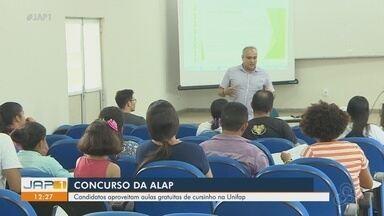 Candidatos aproveitam cursinho gratuito na Unifap para se dar bem no concurso da Alap - Hotéis também já estão lotados.
