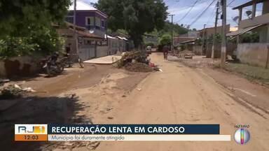 Cardoso Moreira, RJ, ainda sofre com destrição provocada pela chuva dos últimos dias - Muitas ruas do município estão tomadas por lama e entulhos.