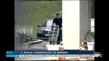 Tribunal de Justiça anula condenação de Bibinho - Ex-diretor geral da Assembleia tinha sido condenado no caso dos Diários Secretos.