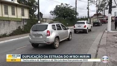 Estrada do M'Boi Mirim será duplicada - Governo do estado e Prefeitura assinam um convênio para o início das obras, que devem durar até 2022