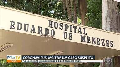 Coronavírus preocupa autoridades de saúde - Exame de paciente com suspeita da doença em BH vai ser divulgado pela Fiocruz