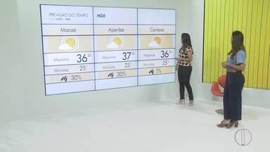 Veja a previsão do tempo para as cidades do interior do Rio - Confira a mínima e máxima da temperatura para as cidades da região.