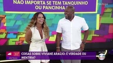 Viviane Araujo faz revelações no quadro 'Coisas Sobre Mim' - Ela diz que planeja congelar óvulos e fala do desejo de ser mãe